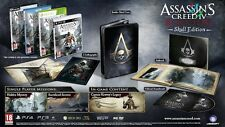 Assassin's Creed IV 4 Black Flag Skull Edition Xbox One * NEW SEALED PAL *
