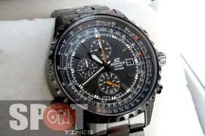 Casio Edifice Chronograph Mens Watch EF-527BK-1 EF527BK