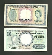 Malaysia and British Borneo....2 old notes.
