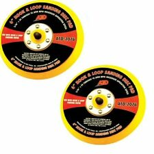 ATD 2076  Hook And Loop Sanding Disc Pad 6 Inch DA Disk Pad- 2 Pack