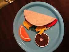 FELT FOOD TACO PLAY SET NEW