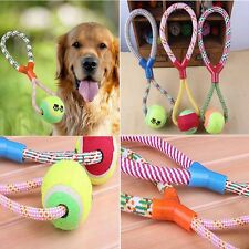 Indestructible Cotton New Rope Braided Ball Pet Toy Dog Gift Dog Chew Toys