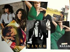 MANGO 4 x Fashion Catalogue PENELOPE & MONICA CRUZ & Clippings 2007 & 2008 NEW