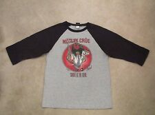 Vintage Motley Crue Shout at the Devil Tour Concert T-shirt Jersey size L