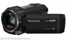 Panasonic HC-V770EB-K Full HD Camcorder with Wireless Twin Camera 20x Optical