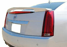 CADILLAC CTS 4-DOOR FACTORY UNPAINTED REAR WING SPOILER 2008-2013