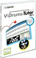 Roland DT-1 V-Drums Tutor Software for Windows and Mac OS F/S