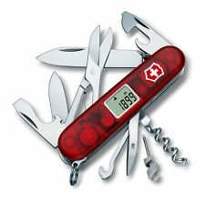 1.3705.AVT Victorinox Swiss Army Knife TRAVELLER 25 Tools Translucent Red