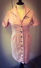 AGENT PROVOCATEUR Pink Uniform VIVIENNE WESTWOOD Pin Up Dress 12