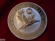 Australia 1996  2oz - Silver Kookaburra..  Hague Privy Mark..  BU