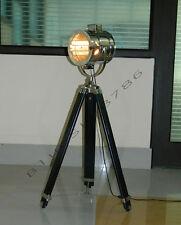 MARINE STUDIO THEATER SPOTLIGHT SEARCHLIGHT, NAUTICAL FLOOR LAMP