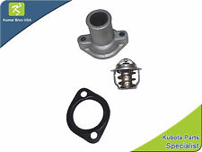 New Kubota KX121-2 KX121-(S SERIES) Thermostat Cover, Thermostat & Gasket