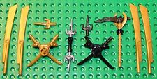 Lego Mixed Ninjago Weapons NEW!!!