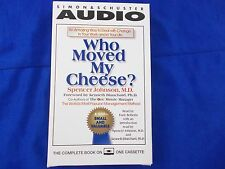 who moved my cheese 1 hours 1 cassettes  audio book abridged