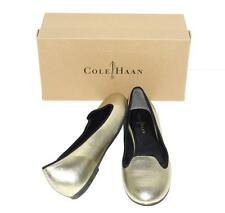 """COLE HAAN~SNAKESKIN EMBOSSED LEATHER """"AIR MORGAN"""" BALLET FLAT SHOES~9.5 or 10"""