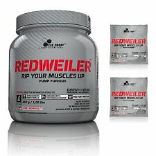 OLIMP RedWeiler 480g+24g PRE WORKOUT PUMP CREATINE STACK L-ARGININE BETA-ALANINE