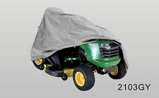 Riding Lawn Mower / Tractor Storage Cover weather Resistant, Grey