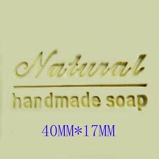 Natural handmade Soap Stamp Soap chapter For Handmade Soap Candle Candy Fimo