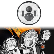 "Motorcycle 7"" Led Daymaker Headlight for Harley Softail Deluxe Fat Boy FLSTF"