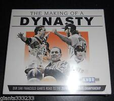 *SF GIANTS 4 Discs CD THE MAKING OF A DYNASTY NARRATED BY JOHN MILLER Road to WS