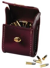 .22 LR AMMO LEATHER CARTRIDGE CARRIER #10700