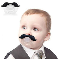 Funny Mustache Baby Boy Girl Infant Pacifier Orthodontic Dummy Nipples Hot NEW