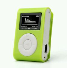 Mini USB Clip MP3 Player LCD Screen (Support 32GB Micro SD TF Card)