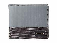 Nixon Origami Bi-Fold Zip Wallet (Gray)