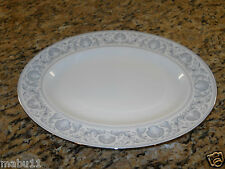 "Wedgwood White Dolphins R4652 14"" Serving Platter"