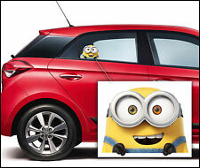 Despicable Minion Colour Home Vinyl Decal Window Sticker Car Laptop Wall M1