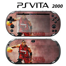 Vinyl Decal Skin Sticker for Sony PS Vita Slim 2000 Dwyane Wade Heat
