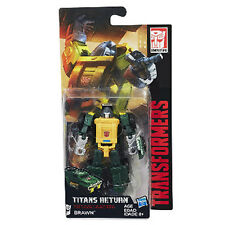 Transformers Generations Titans Return Wave 4 Legend Class # Brawn