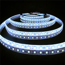 600 LED 16.4FT 5M SMD 3528 Cool White Flexible Strip Car Light Waterproof DC12V