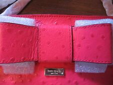 REDUCED NWT Kate Spade Charm City Desert Rose Ostrich Bag
