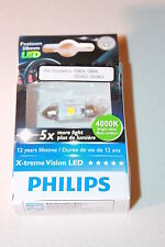 PHILIPS X-TREME VISION FESTOON LED C5W 4000K 43MM (SINGLE BULB) 129454000KX1