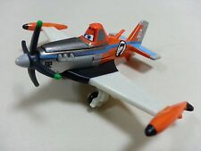 Mattel Disney Pixar Planes No.7 Supercharged Dusty Diecast Metal Toy Loose New