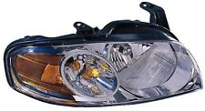 New Right/Passenger Side Headlight Assy Black Bezel FOR 2004-2006 Nissan Sentra