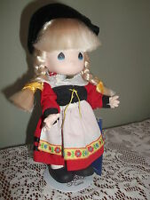 Precious Moments 8.5 in doll - Gretchen Children of the World Germany