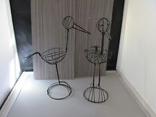 SALE!!  Set of 2 wire Storks for Baby Shower Decorations