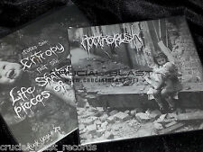 """NOOTHGRUSH Entropy / Life Shatters Into Pieces Of Anguish 7"""" sludgecore dystopia"""