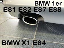 BMW SERIE 1 -  E81 E82 E87 E88 /  X1 E84   DIESEL  TERMINALE SCARICO ALU OVALE