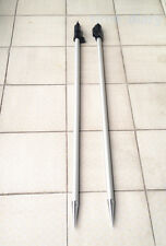 "NEW 2PCS 2.15m ( 7 ft ) Prism pole for total stations Surveying  5/8""x11 thread"