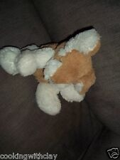 PLUSH DOLL FIGURE BROWN & WHITE MATTEL  BARBIE INTERACTIVE BARKING PUPPY DOG TOY