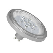 ES111 LED Spot silver 2700K warm white Spotlight GU10 Reflector Lamp 11W
