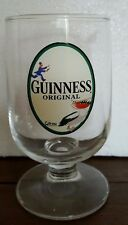 Gilroy Guiness Original Half Pint Glass with Toucan with Bottles in Beak