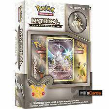 Pokemon Mythical Arceus Collection Box: Generations Booster Packs + Promo Card