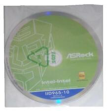 Driver ORIGINALE ASROCK p5b-de * 11 CD DVD OVP NUOVO Windows XP Vista WIN 7 ver 1.0