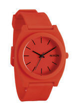 Nixon Time Teller P Neon Orange Dial Men's Watch A119-1156