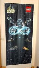 STAR WARS LEGO Darth Vader Banner - Neu - ULTRA RAR