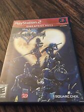 Kingdom Hearts Greatest Hits Ps2 Playstation 2 No Manual Works PG1